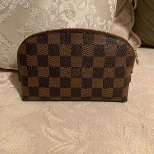 AUTHENTIC Louis Vuitton Cosmetic Pouch PM